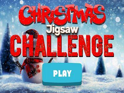 聖誕節拼圖挑戰
