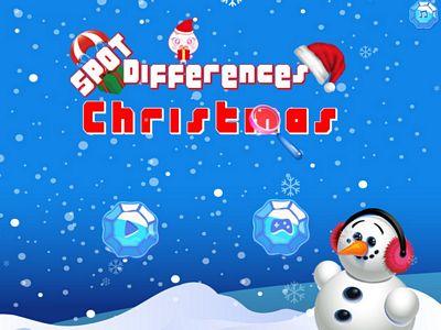 聖誕節找不同