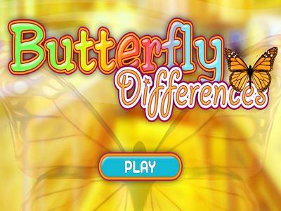 蝴蝶找不同